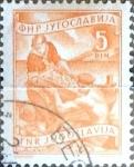 Sellos del Mundo : Europa : Yugoslavia : Intercambio 0,20 usd  5 d. 1952