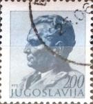Stamps Yugoslavia -  Intercambio 0,20 usd  2 d. 1974