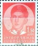 Stamps : Europe : Yugoslavia :  Intercambio crxf 0,20 usd  1,50 d. 1935