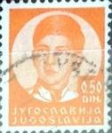 Stamps : Europe : Yugoslavia :  Intercambio crxf 0,20 usd 50 p. 1935