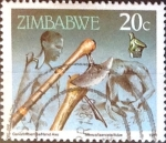 Sellos del Mundo : Africa : Zimbabwe : Intercambio 0,20 usd 20 cent. 1990