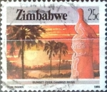 Sellos del Mundo : Africa : Zimbabwe : Intercambio cxrf 0,45 usd 25 cent. 1985
