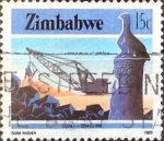 Sellos del Mundo : Africa : Zimbabwe : Intercambio 0,20 usd 15 cent. 1985
