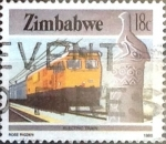 Stamps : Africa : Zimbabwe :  Intercambio cxrf 0,45 usd 18 cent. 1985