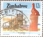 Sellos del Mundo : Africa : Zimbabwe : Intercambio 0,20 usd 12 cent. 1985