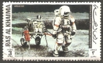 Stamps : Asia : United_Arab_Emirates :  71 - Vuelo del Apolo XIV