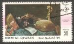 Sellos del Mundo : Asia : Emiratos_Árabes_Unidos : Umm al Qiwain - Pintura de Bischenis