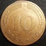 monedas de Europa - Alemania -  1980 (Reverso)