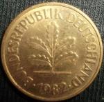 monedas de Europa - Alemania -  1982 (Anverso)