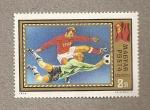 Sellos de Europa - Hungría -  Fútbol