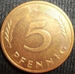 monedas de Europa - Alemania -  1987 (Reverso)