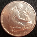 monedas de Europa - Alemania -  1990 (Anverso)