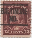 Stamps United States -  Y & T Nº 189
