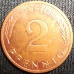 monedas de Europa - Alemania -  1996 (Reverso)