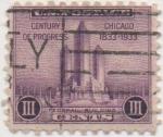 Sellos de America - Estados Unidos -  Y & T Nº 321