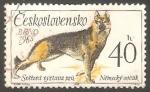 Sellos del Mundo : Europa : Checoslovaquia :  1409 - Perro de raza