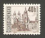Sellos de Europa - Checoslovaquia -  1519 - Vista de la ciudad de Hradec Kralove