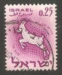 Stamps Israel -   195 - Capricornio, signo del Zodiaco