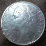 monedas de Europa - Italia -  1977 (Anverso)
