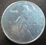 monedas de Europa - Italia -  1978 (Reverso)