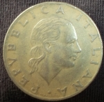 monedas de Europa - Italia -  1978 (Anverso)