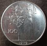 monedas de Europa - Italia -  1979 (Reverso)