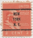 Stamps United States -  Y & T Nº 368 (1)