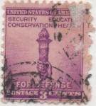 Sellos de America - Estados Unidos -  Y & T Nº 453 (2)