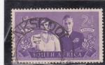 Sellos de Africa - Sudáfrica -  George VI y Elizabeth