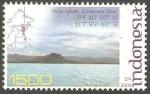 Sellos de Asia - Indonesia -  Isla Sebatik