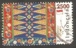 Stamps Indonesia -  2621 - Artesanía, textil tradicional