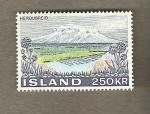 Sellos del Mundo : Europa : Islandia : Herdubreid