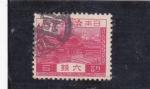 Stamps Japan -  casa típica