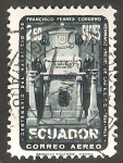 Stamps Ecuador -  272 - Centº del nacimiento de Francisco Febres Cordero, su tumba