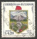 Stamps Ecuador -  315 - Escudo del cantón de la provincia de Carchi, Tulcan