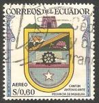 Stamps : America : Ecuador :  337 - Escudo del cantón Anotnio Anté, provincia de Imbabura