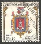 Stamps Ecuador -  360 - Escudo del cantón Quito, de la provincia de Cayambre