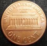 monedas de America - Estados Unidos -  1970 (Reverso)
