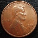 monedas de America - Estados Unidos -  1971 (Anverso)