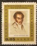 Sellos del Mundo : America : Venezuela : Símon Bolívar.Libertador y padre de la Patria.