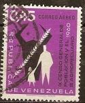 Sellos del Mundo : America : Venezuela : IX Censo General de Población y el III Agropecuario 1960.
