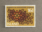Stamps Europe - Iceland -  Rombos
