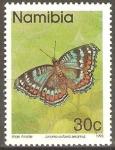Stamps Africa - Namibia -  MARIPOSAS.  JUNONIA  OCTAVIA  SESAMUS.