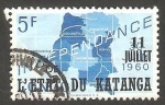 Sellos de Africa - República Democrática del Congo -  Katanga - 46 - Independencia