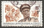 Stamps : Africa : Democratic_Republic_of_the_Congo :  671 - General Mobutu