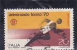 Sellos de Europa - Italia -  Universiada- Torino-70