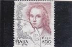 Stamps : Europe : Italy :  La mujer en el arte