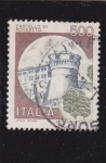Stamps : Europe : Italy :  castello di Rovereto