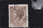 Stamps : Europe : Italy :  moneda siracusana