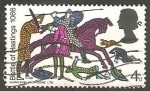 Stamps United Kingdom -  456 - IX Centº de la batalla de Hastings